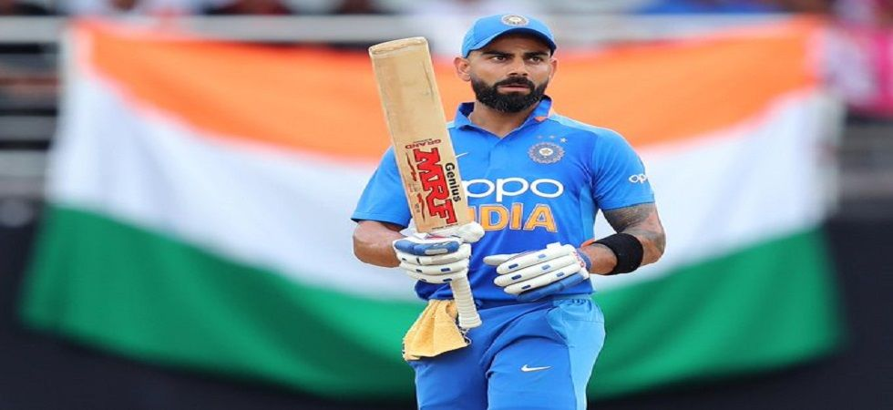 Virat Kohli has said he prefers getting hit early by a bouncer which will motivate him to do better. (Image credit: Twitter)