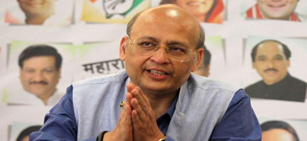 Senior Congress leader Abhishek Singhvi