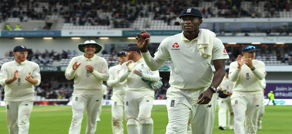 Jofra Archer's sensational spell on day one almost did not happen as he arrived for the match just minutes before the toss. (Image credit: Getty Images)