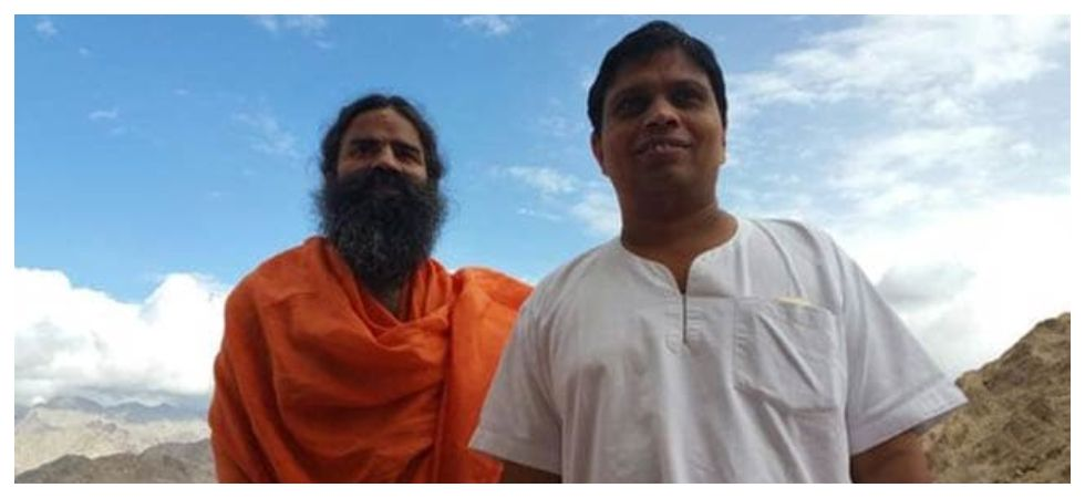 Baba Ramdev and Balkrishna
