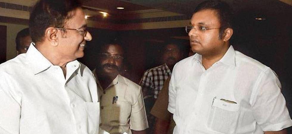 Karti and P Chidambaram (Image: PTI)