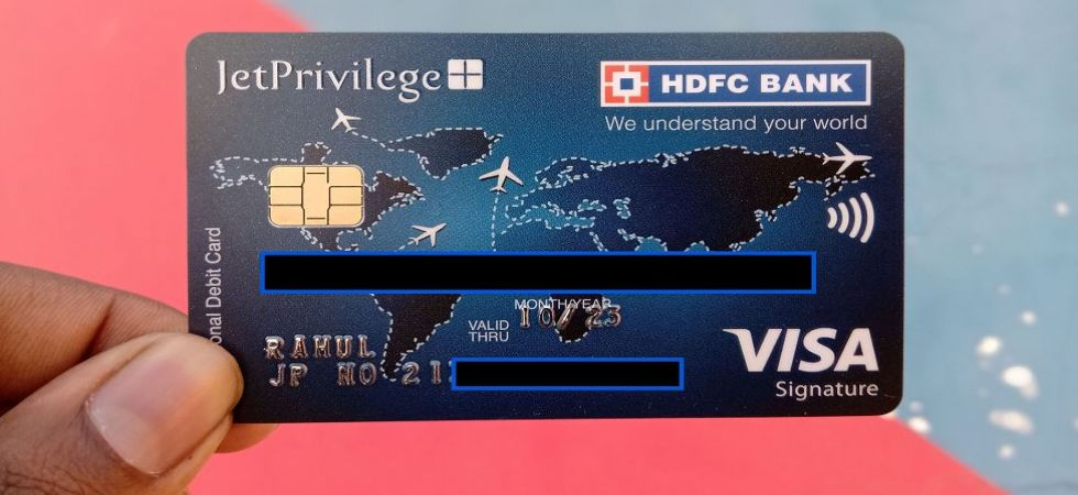 HDFC Bank Debit Card (Representational Image)