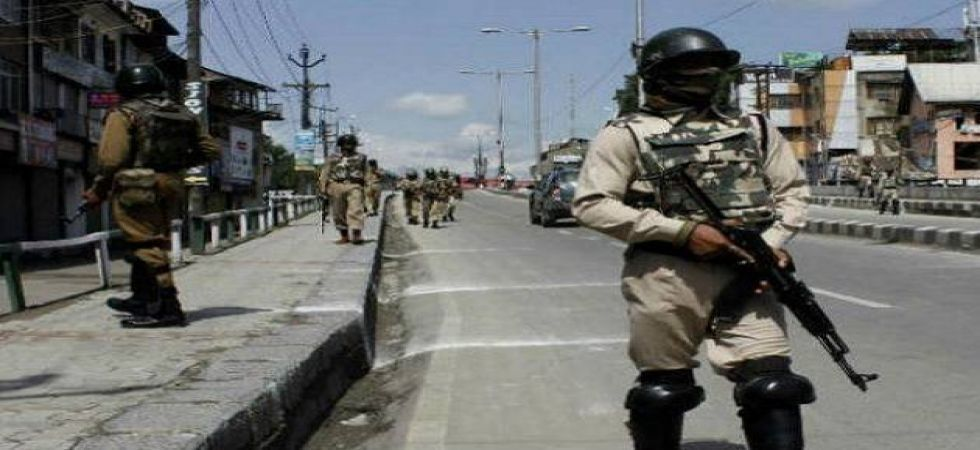 Barricades and concertina wires were erected at many places to prevent people from marching to Lal Chowk and Sonawar, where the UN office is located. (File Photo)