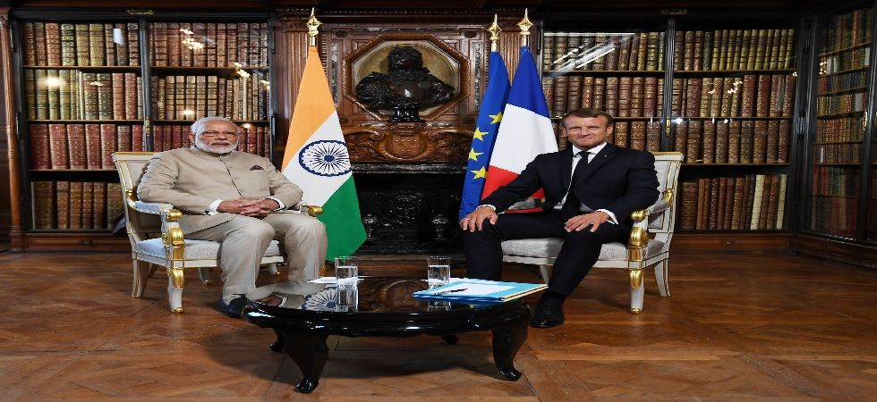 France will deliver 1st of the 36 Rafale fighter jets to India next month (Photo: Twitter@narendramodi)