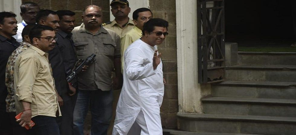MNS chief Raj Thackeray appeared before the ED in connection with a money laundering case on Thursday. (PTI)