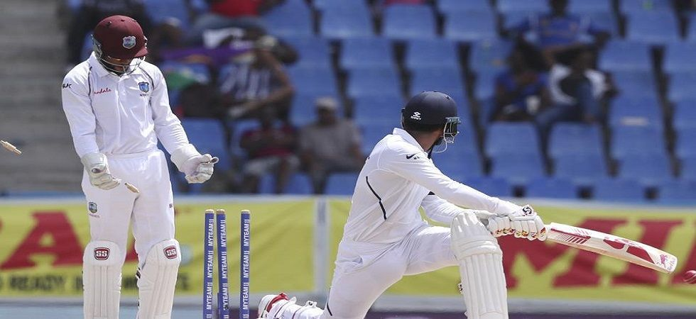 KL Rahul made 44 and 38 in the Antigua Test against West Indies. (Image credit: Twitter)