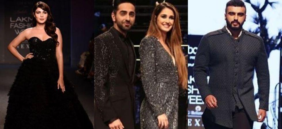 Lakme Fashion Week: Ayushman, Disha weave black magic on ramp