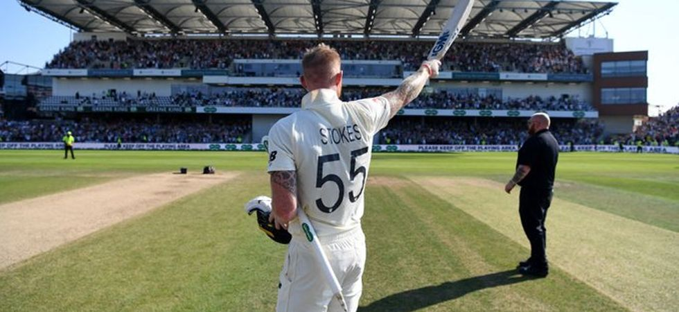 Ben Stokes' remarkable 135* leads England to incredible one wicket victory (Image: ICC twitter)