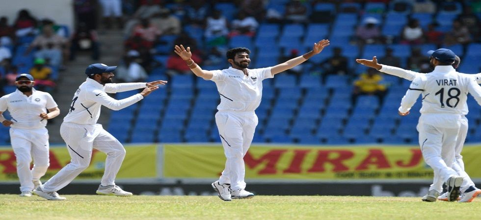 Jasprit Bumrah took his fourth five-wicket haul as India achieved their biggest win overseas. (Image credit: Jasprit Bumrah Twitter)