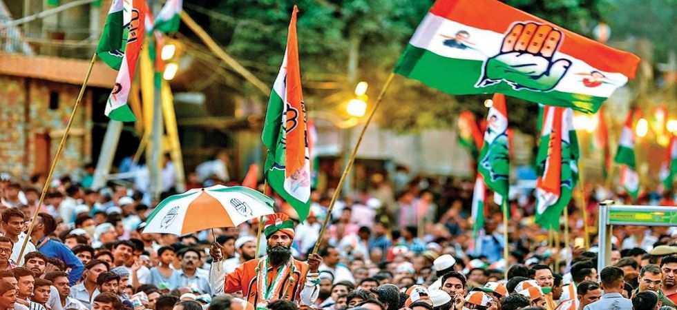 Congress flags (File Photo)