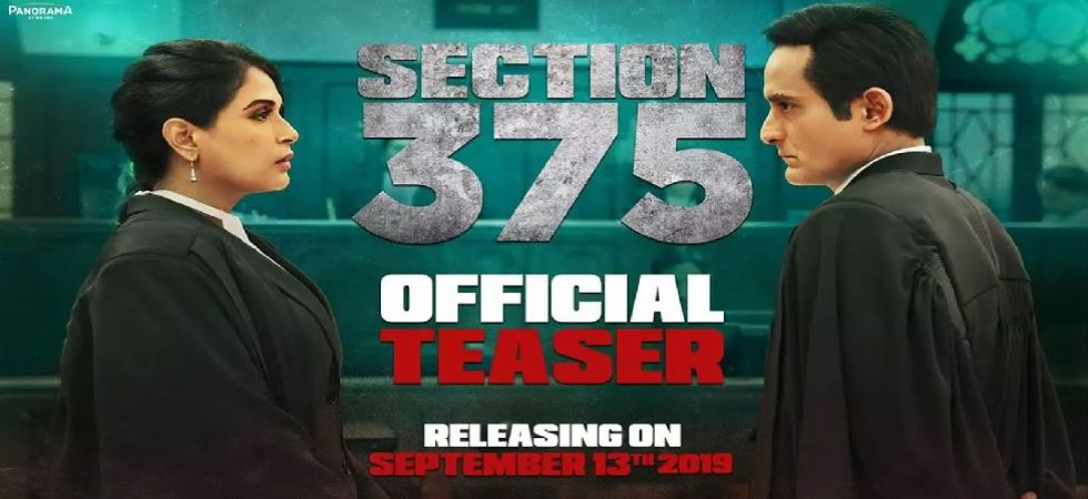 Section 375 movie poster (Photo Source: YouTube)