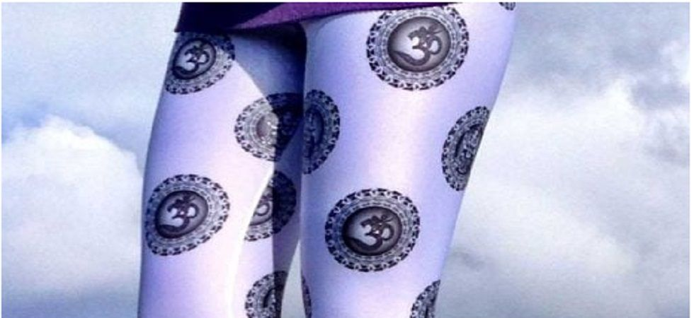 The company described the leggings as inspired by the Hindu deity and termed it a symbol of new beginnings.