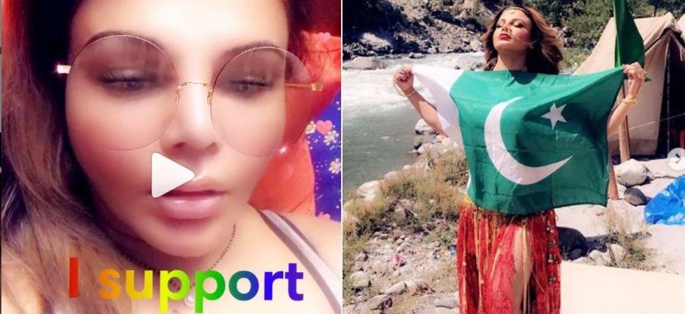 Rakhi Sawant backs Mika ; demands ban on Pak singers working in India