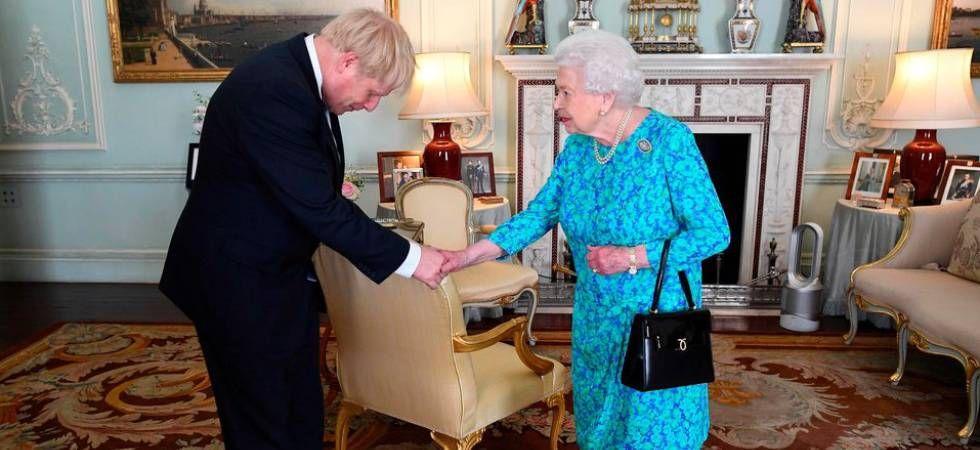 Boris Johnson with the Queen (Image: PTI File)