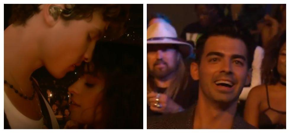 Joe Jonas's epic reaction at Mendes-Camila Cabello performance (Photo: YouTube)