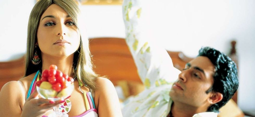 Rani Mukherjee and Abhishek Bachchan in a still from Bunty Aur Babli (Pic Courtesy: YRF Films)