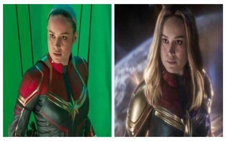 Brie Larson's 'Captain Marvel' Hair Was All CGI'd And Marvel