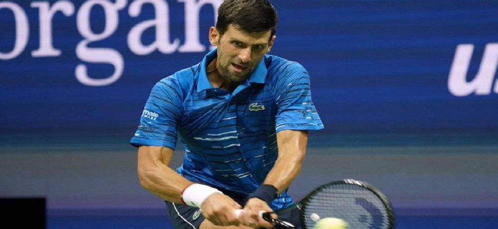 Novak Djokovic overcame shoulder pain to reach the third round of the US Open while Roger Federer also put up a strong show. (Image credit: Twitter)