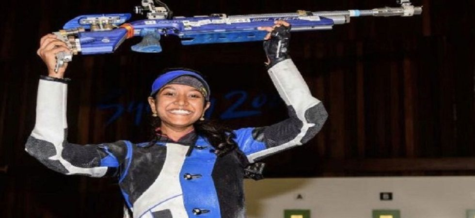Elavenil Valarivan had earlier pipped her senior Anjum in qualification, with an impressive 629.4 to the world No.2s 629.1 as they took the fourth and fifth spots. (Image credit: Twitter)
