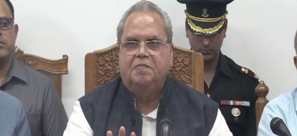 Earlier, Satya Pal Malik assured the people of the state that there identity and culture would be preserved. (Image Credit: ANI)