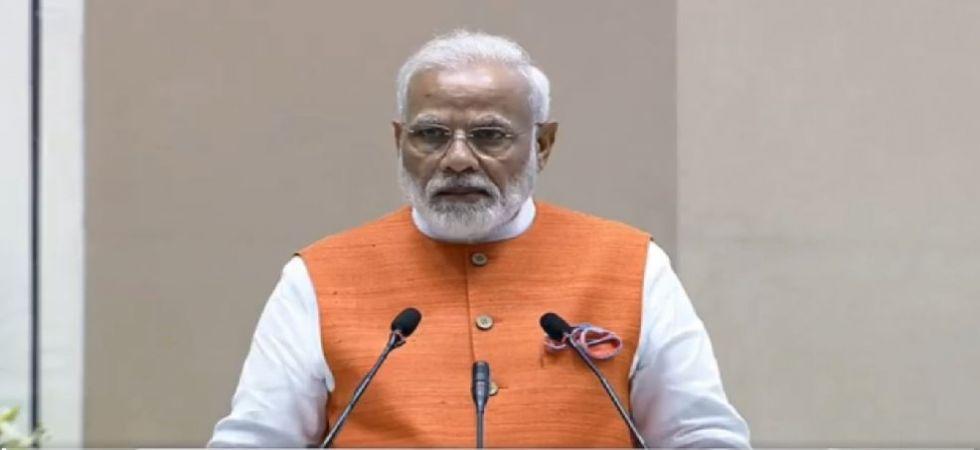Prime Minister Narendra Modi at AYUSH Ministry's event (Photo Source: Twitter)
