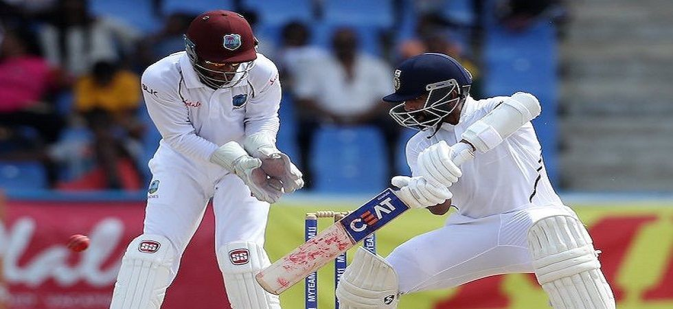 Ajinkya Rahane smashed his first century in two years to help India achieve victory in the first Test against West Indies in Antigua. (Image credit: Twitter)