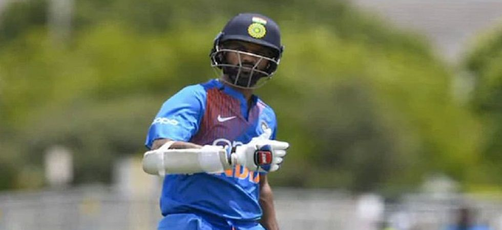 Shikhar Dhawan has been added to the India A squad for the series against South Africa A while Vijay Shankar has been ruled out. (Image credit: Twitter)
