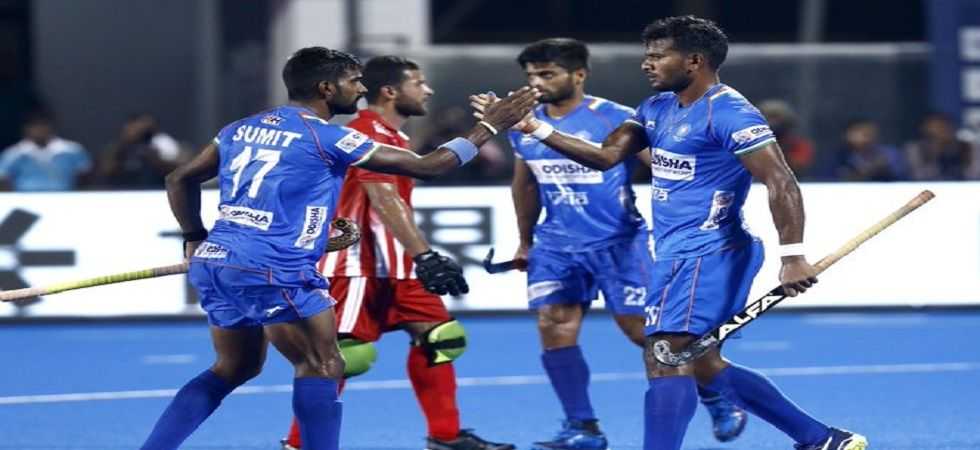 The Indian men's hockey team secured victory in the Olympic Test event final against New Zealand held in Tokyo. (Image credit: Twitter)