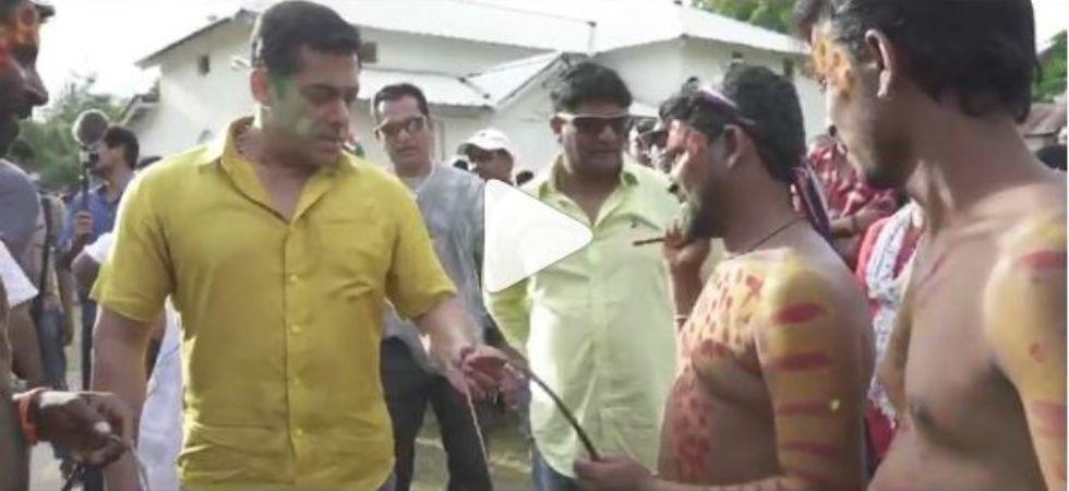 Salman Khan Tries Hand At THIS Shocking Act