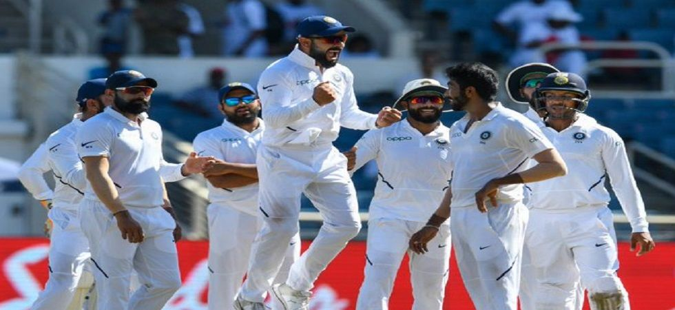 Jasprit Bumrah became the third bowler to take a hat-trick in the Caribbean after Jermaine Lawson and Matthew Hoggard. (Image credit: ICC Twitter)