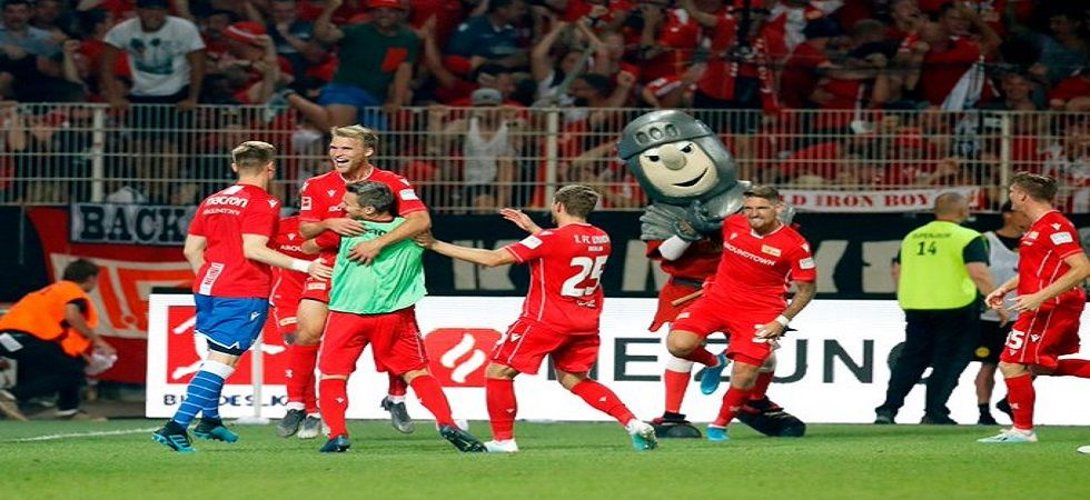 Union Berlin registered their first win in the Bundesliga with a 3-1 win over Borussia Dortmund. (Image credit: Twitter)