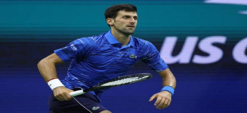 Novak Djokovic has retired from the US Open 2019 tournament due to a shoulder injury in the round of 16 clash against Stan Wawrinka. (Image credit: Twitter)