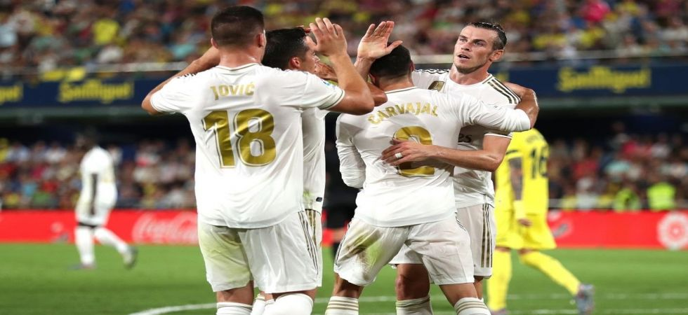 Gareth Bale scored twice to rescue Real Madrid against Villareal in the La Liga as speculations grow that he could leave the club soon. (Image credit: Twitter)