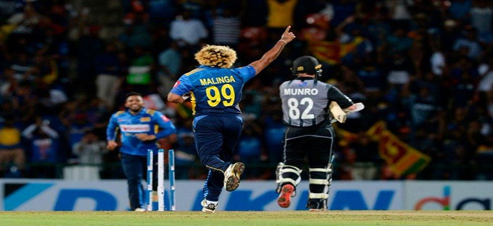 Lasith Malinga became the leading wicket-taker in Twenty20 Internationals as he broke former Pakistan all-rounder Shahid Afridi's tally during the clash against New Zealand in Pallekele. (Image credit: Twitter)