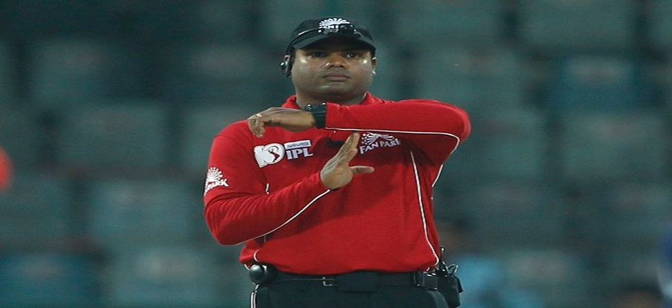 Nitin is the son of former international umpire Narendra Menon and has officiated in 22 One Day Internationals, nine T20 Internationals and 40 IPL matches. (Image credit: BCCI Twitter)