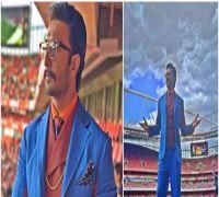 Arsenal Fan Ranveer Singh Raps And Dances At English Premier League, Watch VIDEO