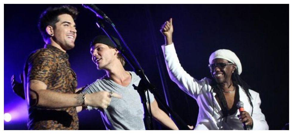 David Guetta and Adam Lambert to perform at Avicii tribute concert (Photo: Twitter)