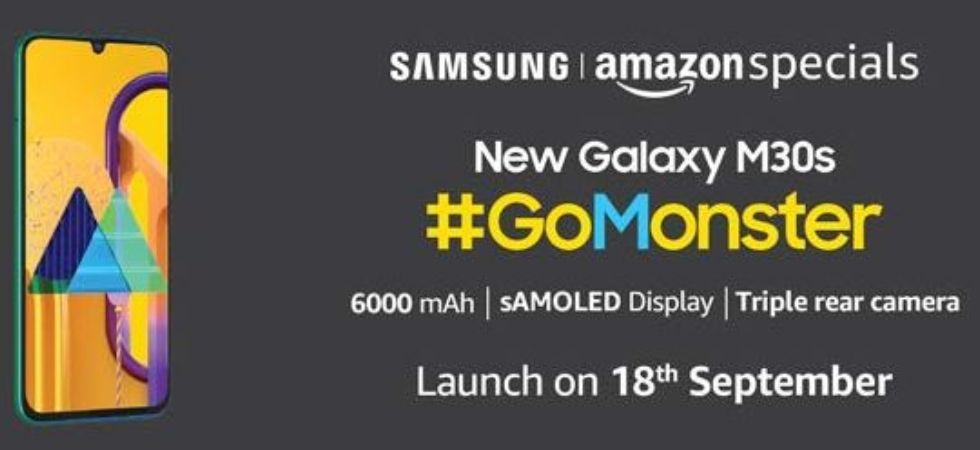 Samsung Galaxy M30s (Photo Credit: Amazon India)