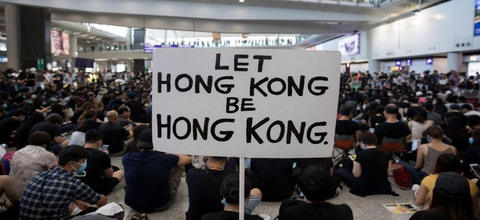 Protest in Hong Kong over extradition bill (File Photo)