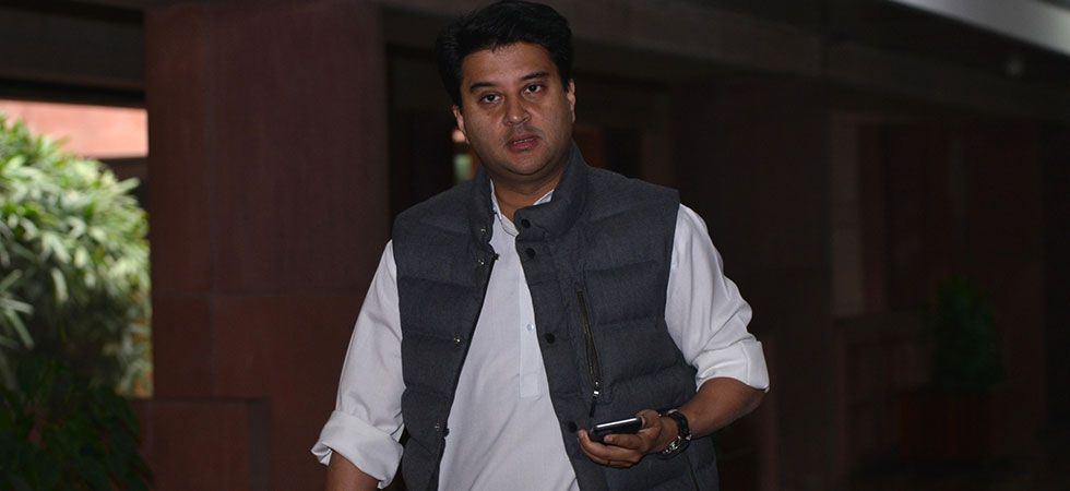 Jyotiraditya Scindia said if illegal mining does not stop, he would be compelled to 'step into the issue'. (File Photo: IANS)