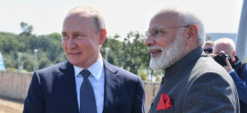 Both PM Modi and Putin welcomed the active work carried out within the framework of the signed MoU on support of the Russian side for the 'Gaganyaan'. (Image credit: PIB)