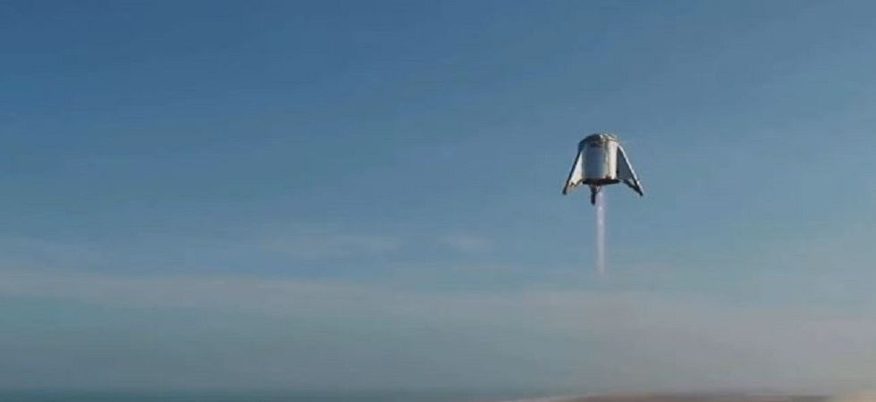 The prototype made a leap of 60 feet the air. (Image Credit: Twitter/ Elon Musk)