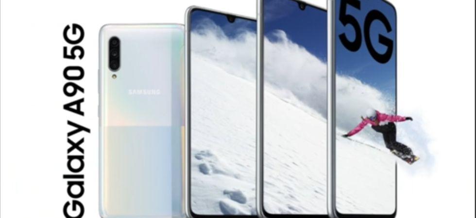Samsung Galaxy A90 5G (Photo Credit: Twitter)