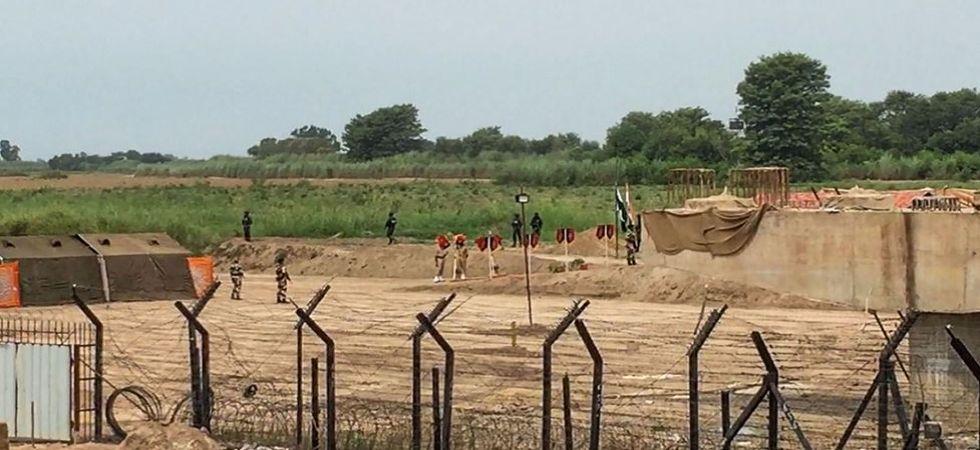 Kartarpur Zero Line At Dera Baba Nanak, Gurdaspur (Photo Source: PTI)