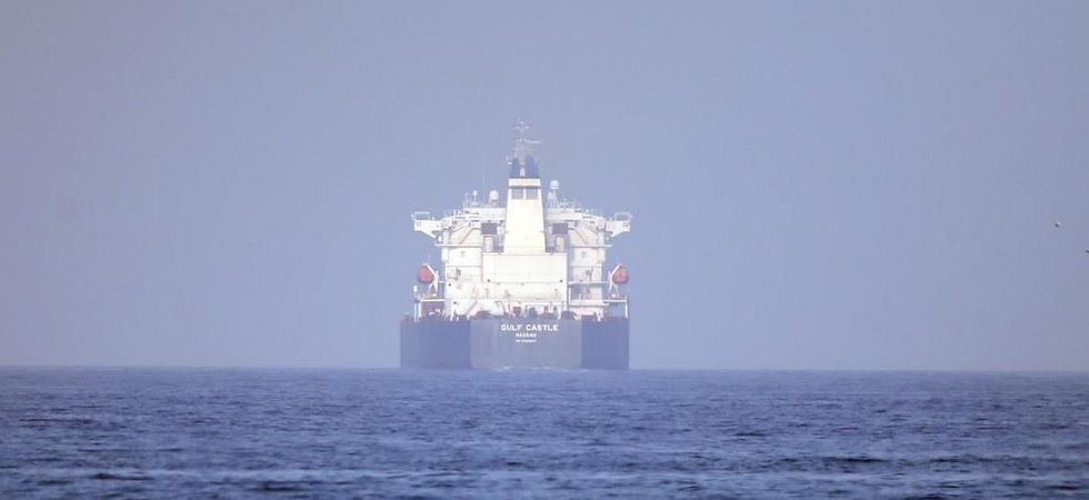 The United States also announced Wednesday that it was imposing sanctions on a shipping network. (File Photo)