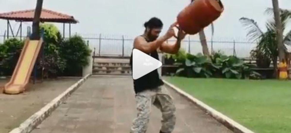 WATCH: Vidyut Jammwal Swings Gas Cylinder Like Paper Bag