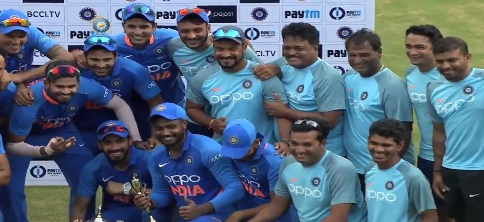 Dhawan, Samson Help India A To 4-1 Series Win Over South Africa A (Image credit: Twitter/BCCI)