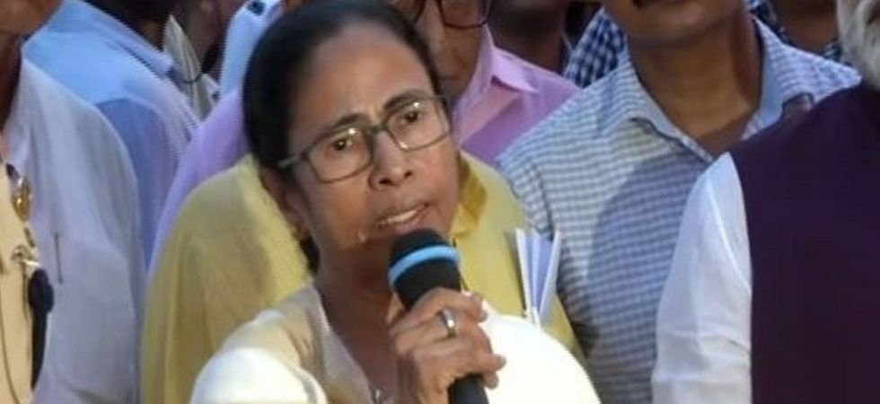 Mamata Banerjee on Chandrayaan-2 landing: Attempt to divert attention from economic disaster. (Image Credit: ANI)