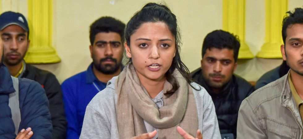 Tweeting from her verified Twitter handle, Shehla Rashid had alleged that Indian Army was torturing people in Kashmir. (PTI File Photo)