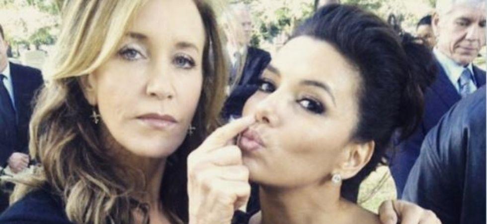 Eva Longoria Says Co-Star Felicity Huffman Helped Her Survive 'Torture'
